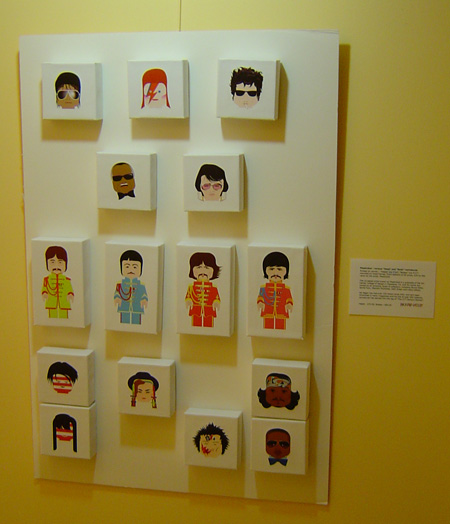 "PlasticGod ""Heads"" Display - RockPoP Gallery"