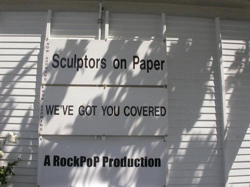 RockPoP Show - Street Signage